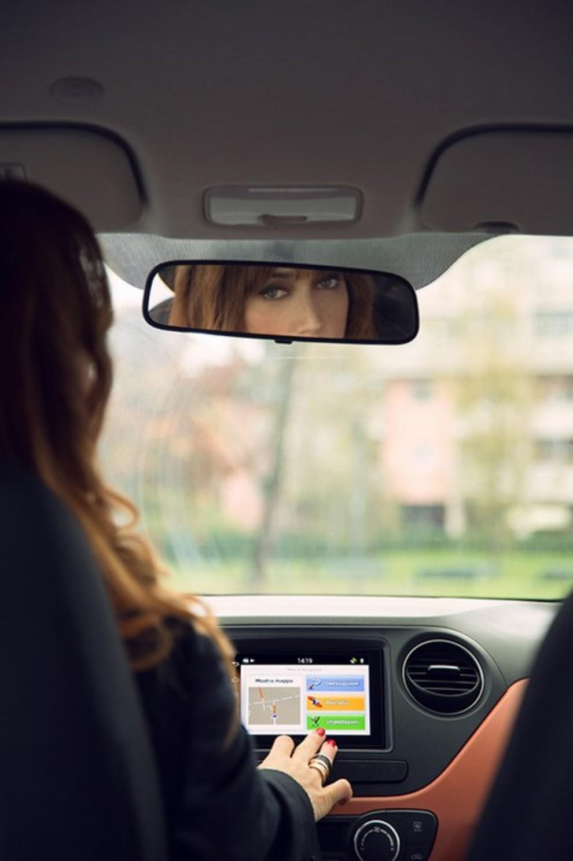 Chiara Francini sceglie Hyundai i10 Sound Edition - Foto 3 di 3