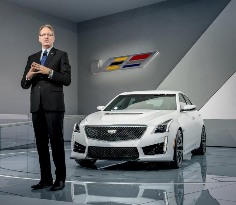 Cadillac CTS-V: supersportiva di lusso all'americana - Foto 5 di 11