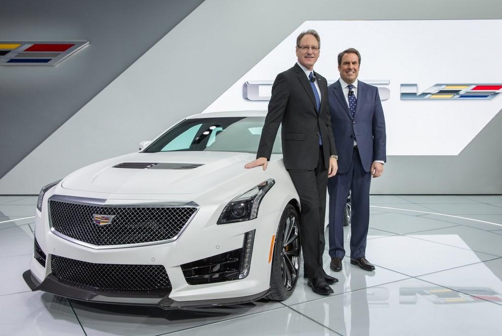 Cadillac CTS-V: supersportiva di lusso all'americana - Foto 7 di 11