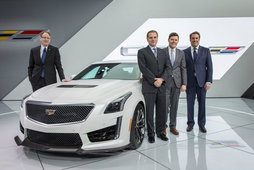 Cadillac CTS-V: supersportiva di lusso all'americana