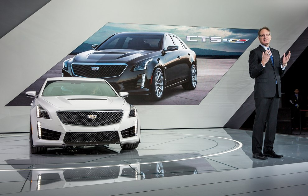 Cadillac CTS-V: supersportiva di lusso all'americana - Foto 11 di 11