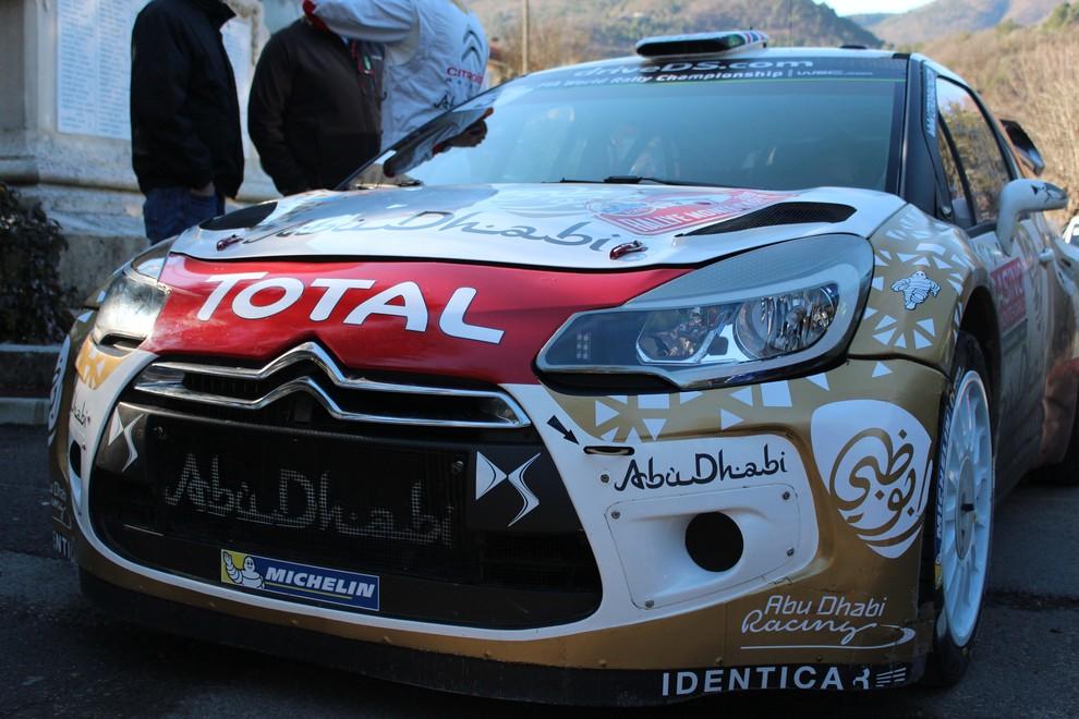 DS3 WRC, le performance al Rally di Montecarlo 2015