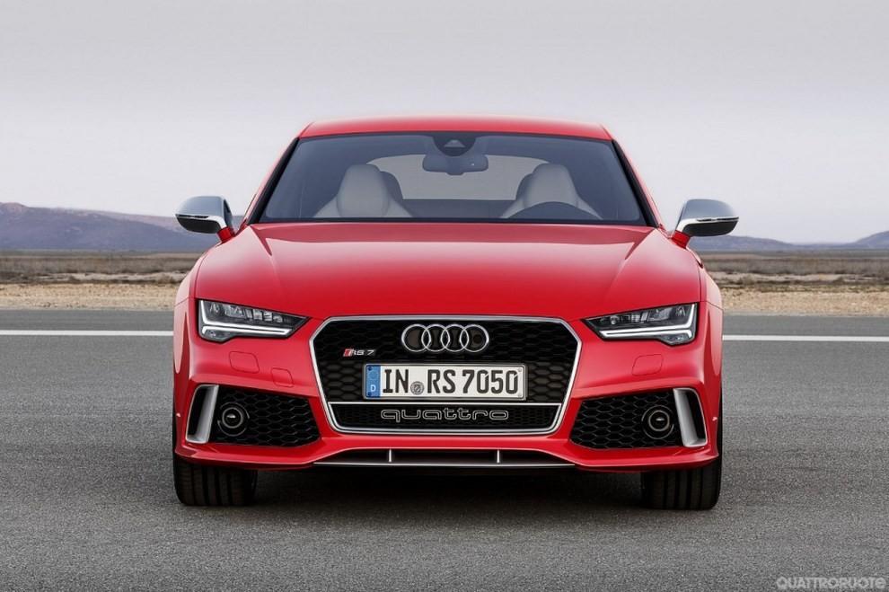 La gamma di Audi A7 si completa con le sportivissime S7 ed RS7 - Foto 2 di 17