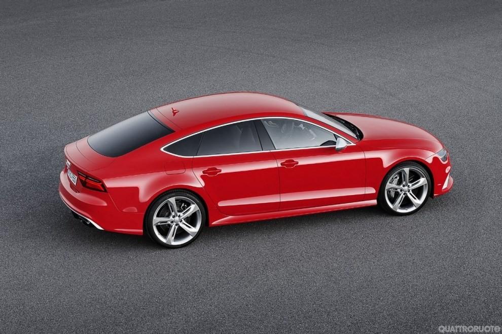 La gamma di Audi A7 si completa con le sportivissime S7 ed RS7 - Foto 17 di 17