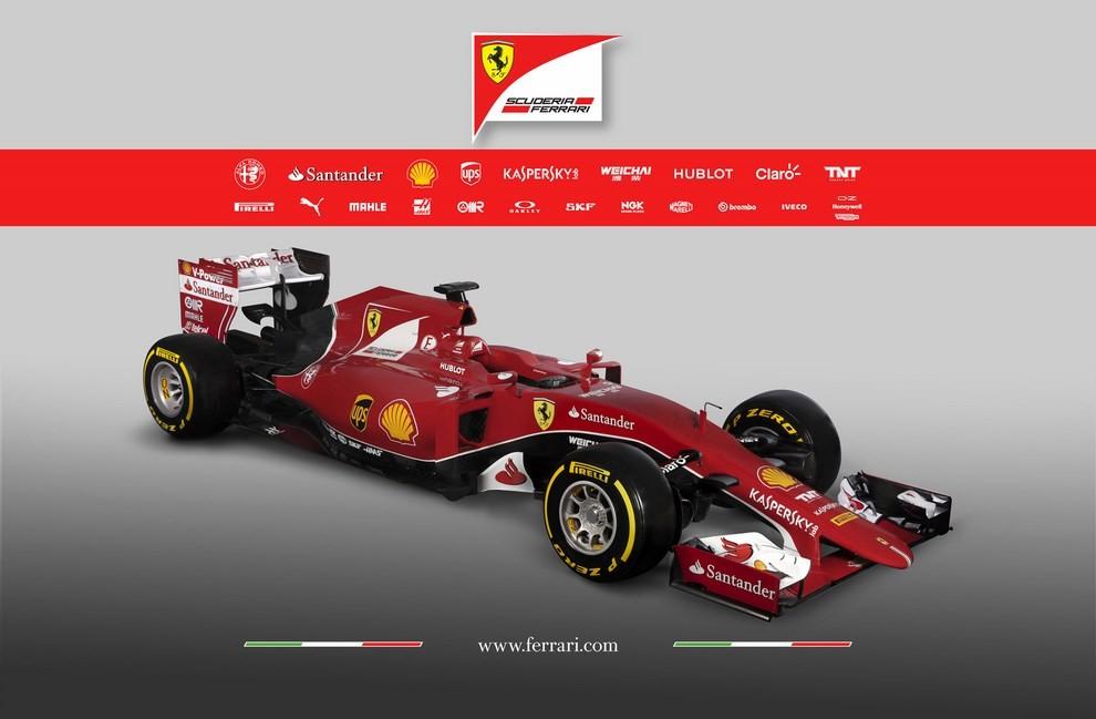 Presentata la Ferrari per il mondiale di Formula 1 2015: ecco la SF15-T - Foto 1 di 13