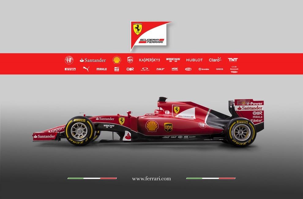 Presentata la Ferrari per il mondiale di Formula 1 2015: ecco la SF15-T - Foto 2 di 13