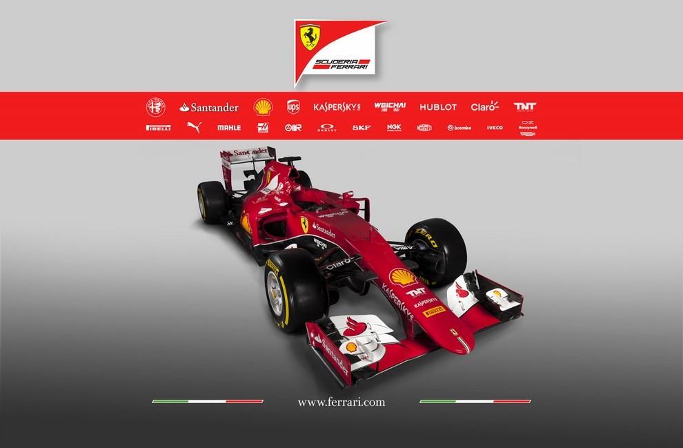 Presentata la Ferrari per il mondiale di Formula 1 2015: ecco la SF15-T - Foto 6 di 13