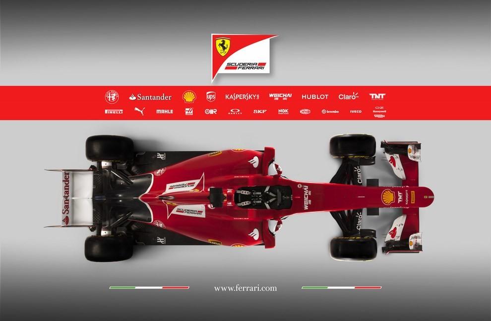 Presentata la Ferrari per il mondiale di Formula 1 2015: ecco la SF15-T - Foto 8 di 13