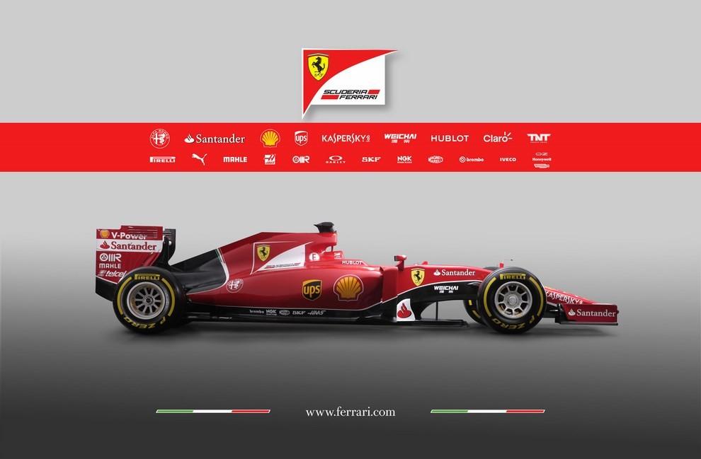 Presentata la Ferrari per il mondiale di Formula 1 2015: ecco la SF15-T - Foto 13 di 13