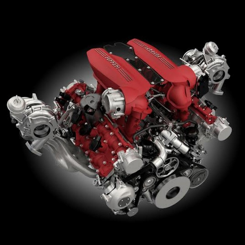 Motore Ferrari V8 per la 4° volta International Engine & Powertrain of the Year - Foto 10 di 10