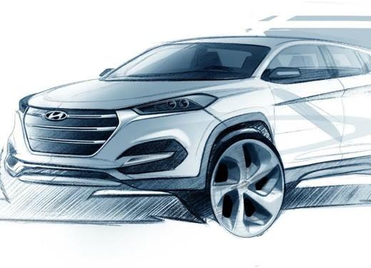 Nuova Hyundai Tucson, svelato il primo bozzetto ufficiale