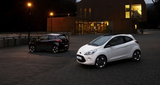 Ford Ka Black & White Edition, due nuove versioni speciali