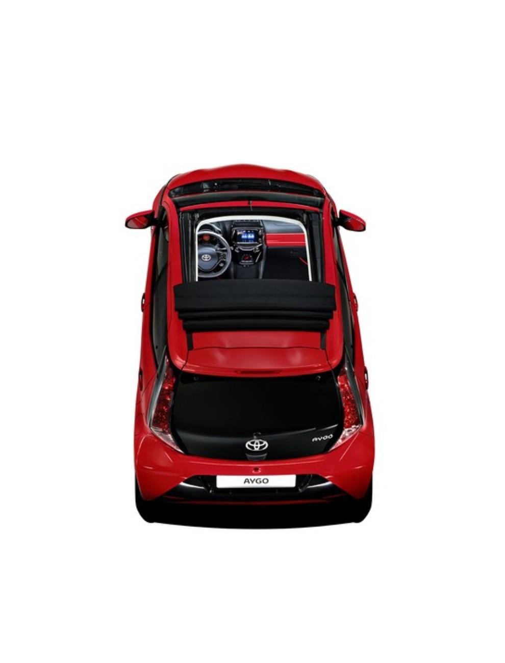 Nuova Toyota Aygo Cabrio X-Wave da 14.050 euro - Foto 2 di 2