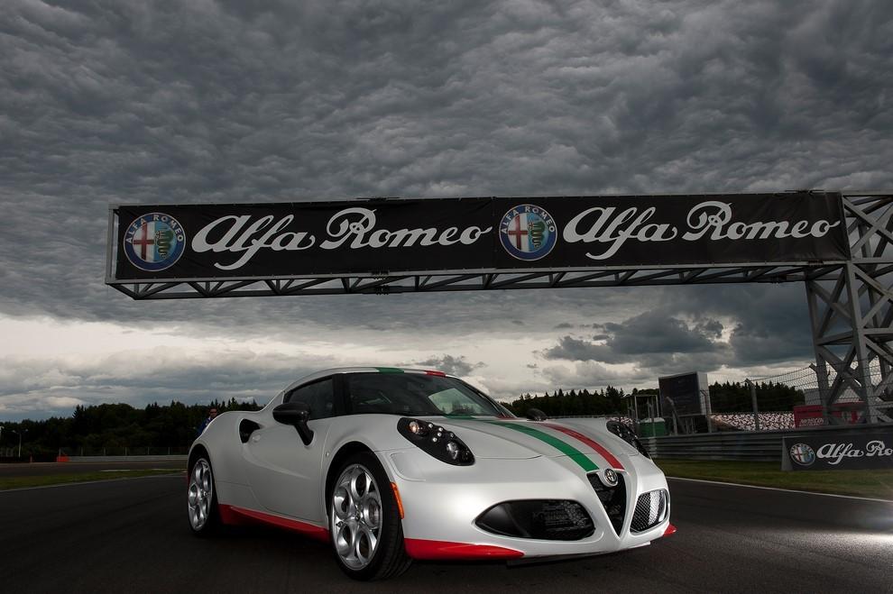 Alfa Romeo 4C, il concorso per creare la nuova livrea della Safety Car del Mondiale SBK - Foto 1 di 5