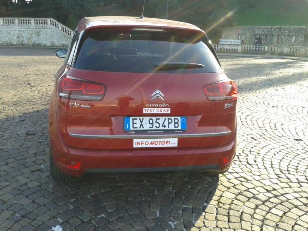 Citroën C4 Picasso 2.0 BlueHDi 150 Cv EAT6 Exclusive: prova su strada - Foto 12 di 15