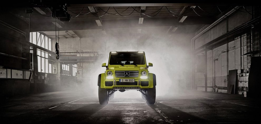 Mercedes G500 4×4², con trazione integrale al quadrato - Foto 1 di 10
