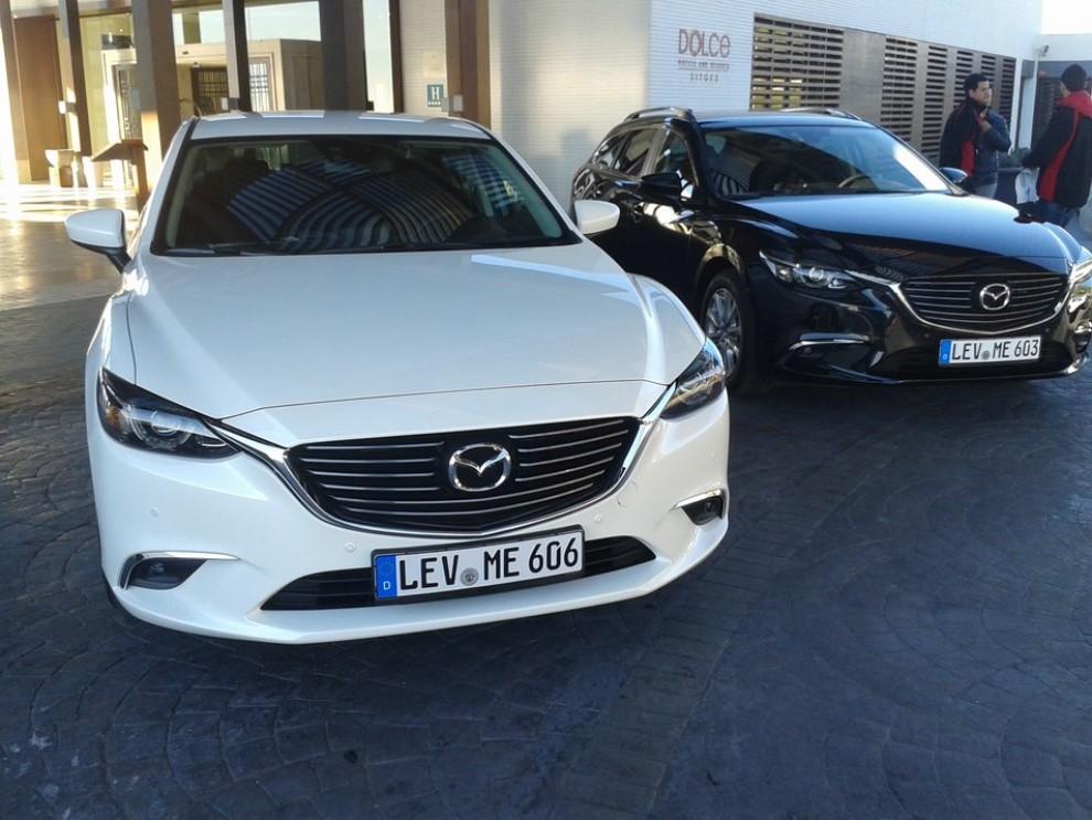 Nuova Mazda6, prova su strada e novità tecniche - Foto 5 di 12