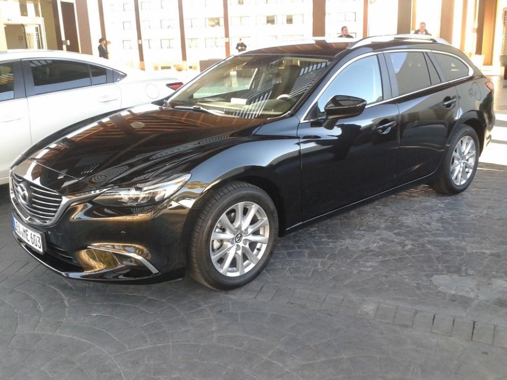 Nuova Mazda6, prova su strada e novità tecniche - Foto 7 di 12