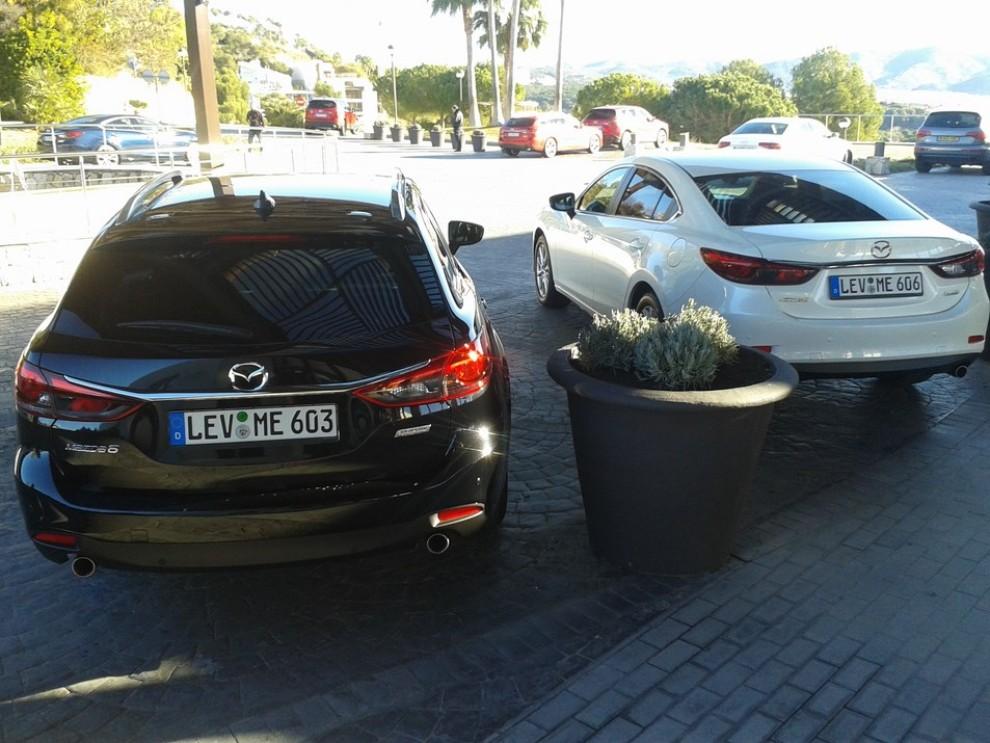 Nuova Mazda6, prova su strada e novità tecniche - Foto 9 di 12