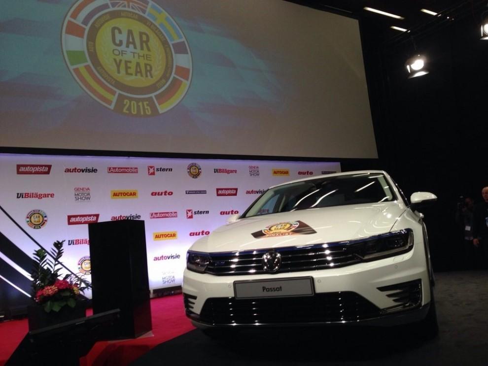 La Volkswagen Passat è stata eletta Auto dell'Anno 2015 - Foto 2 di 19