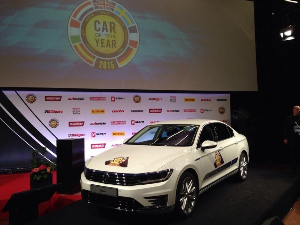 La Volkswagen Passat è stata eletta Auto dell'Anno 2015 - Foto 4 di 19