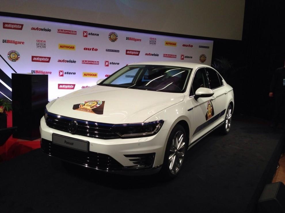 La Volkswagen Passat è stata eletta Auto dell'Anno 2015 - Foto 1 di 19