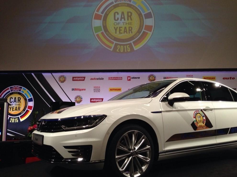 La Volkswagen Passat è stata eletta Auto dell'Anno 2015 - Foto 18 di 19