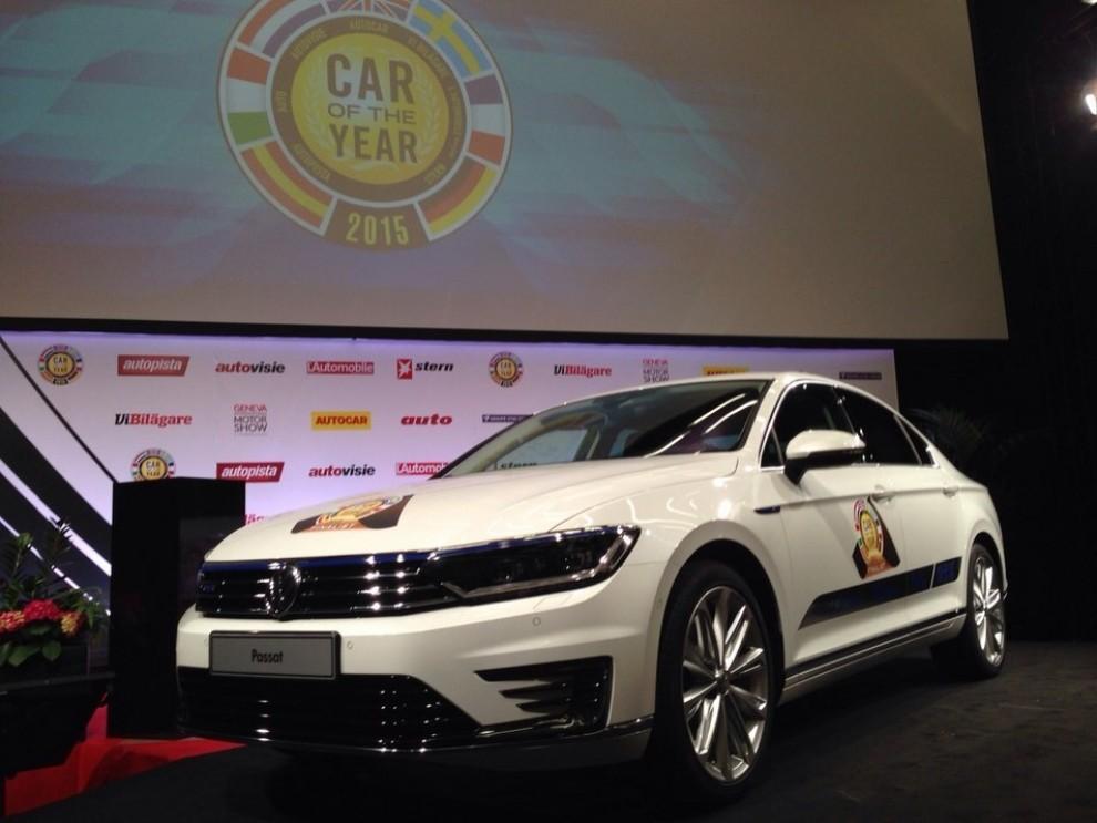 La Volkswagen Passat è stata eletta Auto dell'Anno 2015 - Foto 3 di 19