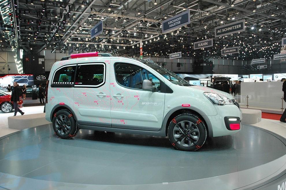 Citroën Berlingo Mountain Vibe Concept: pronta per gite all'insegna dell'allegria - Foto 1 di 4