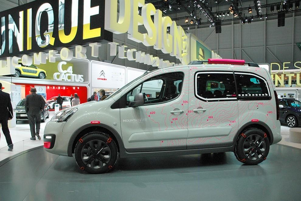 Citroën Berlingo Mountain Vibe Concept: pronta per gite all'insegna dell'allegria - Foto 3 di 4