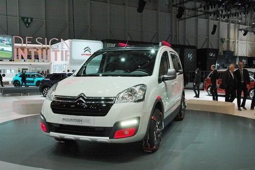 Citroën Berlingo Mountain Vibe Concept: pronta per gite all'insegna dell'allegria