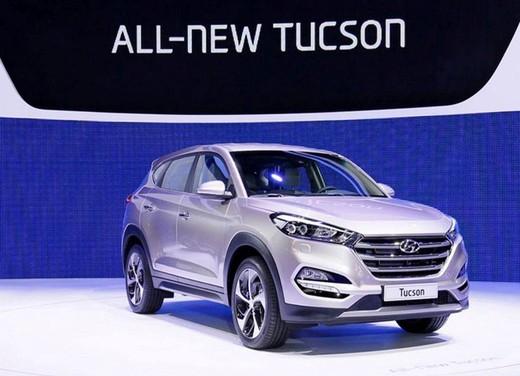 Hyundai Tucson le prime immagini del nuovo crossover della casa coreana