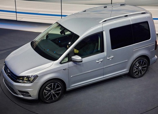 Nuovo Volkswagen Caddy 2015
