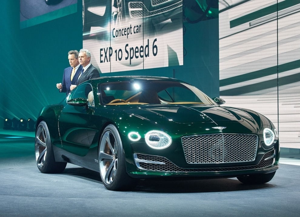 Bentley EXP 10 Speed 6 Concept - Foto 1 di 23