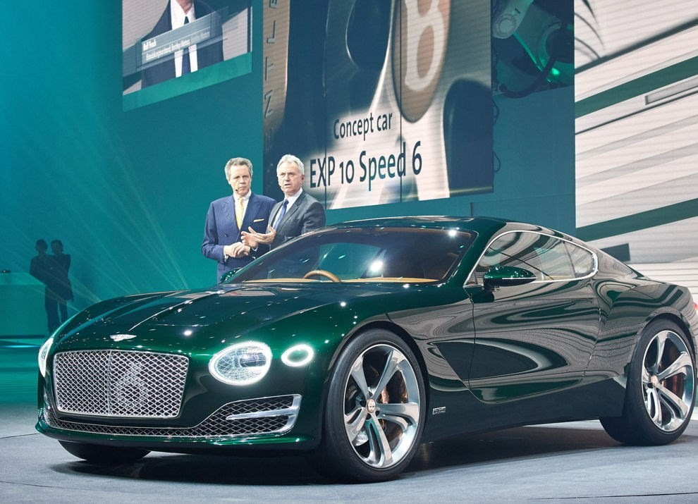 Bentley EXP 10 Speed 6 Concept - Foto 6 di 23