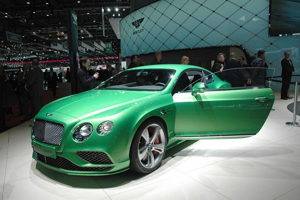 Bentley Continental GT facelift, immagini e informazioni ufficiali - Foto 1 di 14