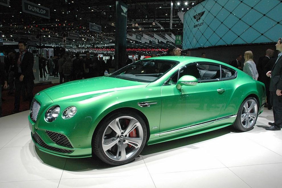 Bentley Continental GT facelift, immagini e informazioni ufficiali - Foto 7 di 14