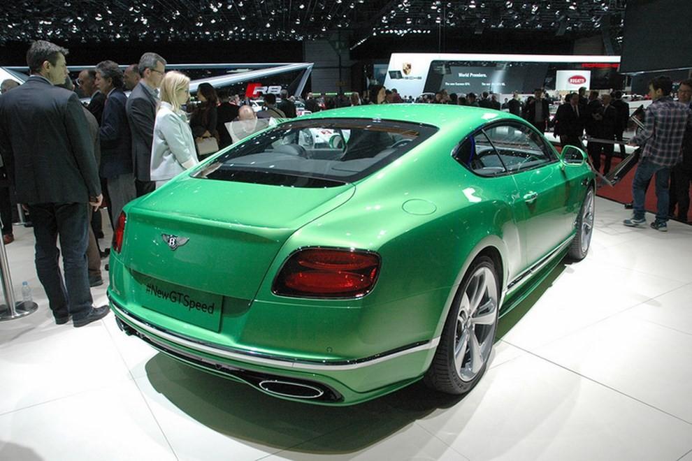 Bentley Continental GT facelift, immagini e informazioni ufficiali - Foto 9 di 14