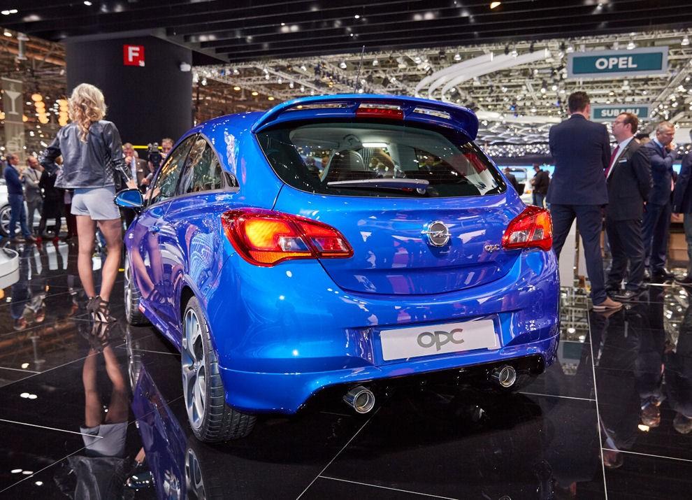 Nuova Opel Corsa OPC foto e informazioni ufficiali - Foto 6 di 6