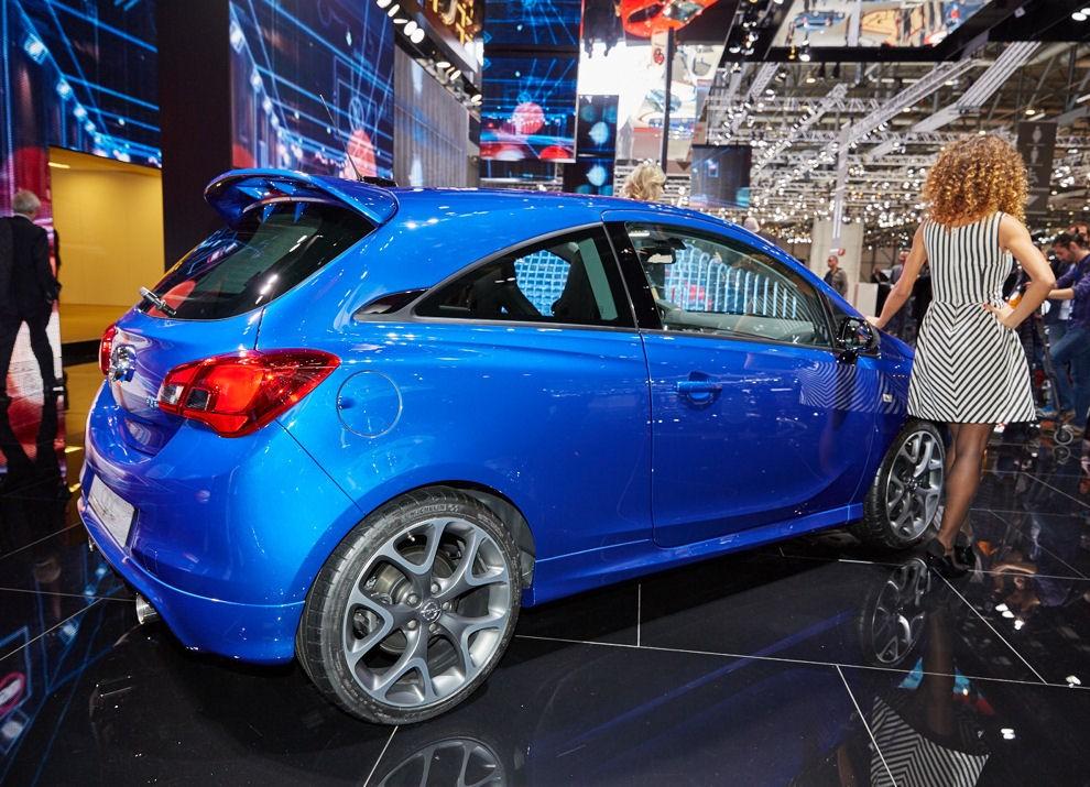 Nuova Opel Corsa OPC foto e informazioni ufficiali - Foto 2 di 6