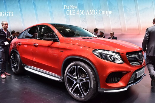 Mercedes GLE 450 AMG Coupè