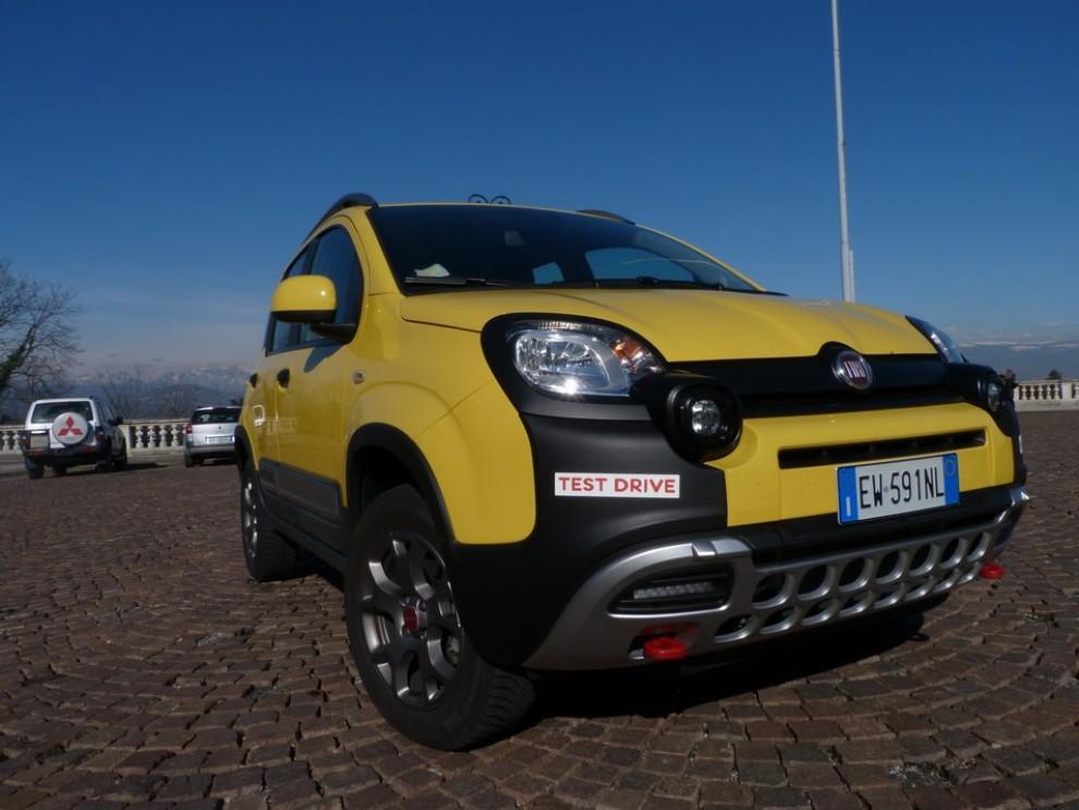 Fiat Panda Cross 1.3 MJT S&S 4×4: la prova su strada - Foto 3 di 30