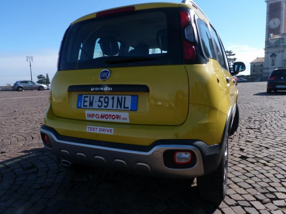 Fiat Panda Cross 1.3 MJT S&S 4×4: la prova su strada - Foto 6 di 30