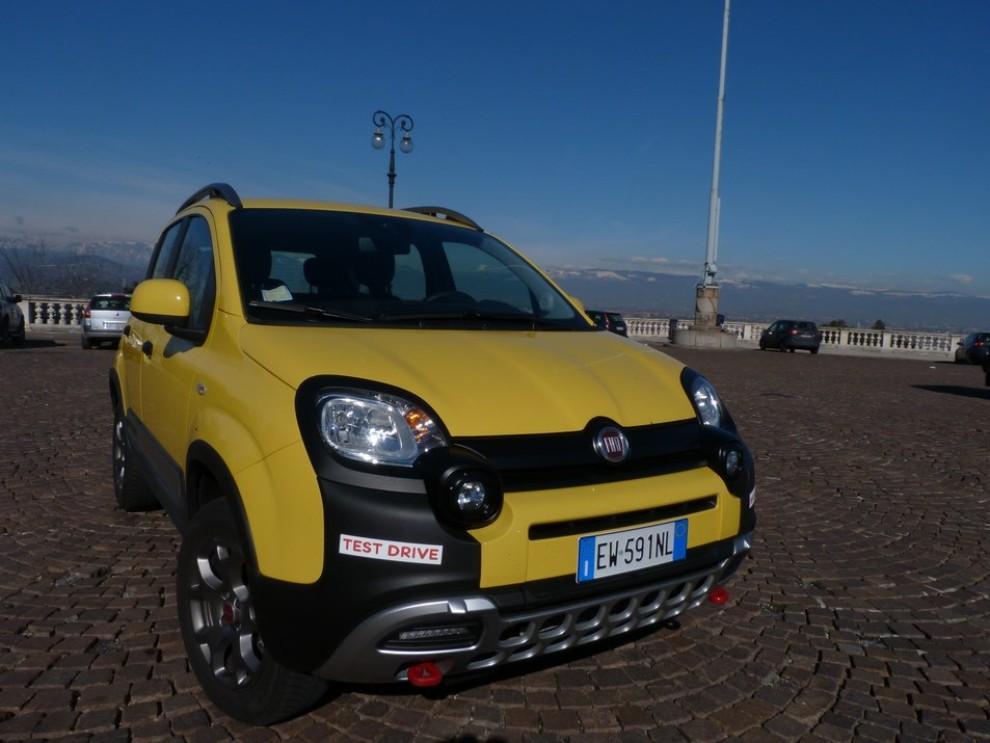 Fiat Panda Cross 1.3 MJT S&S 4×4: la prova su strada - Foto 13 di 30