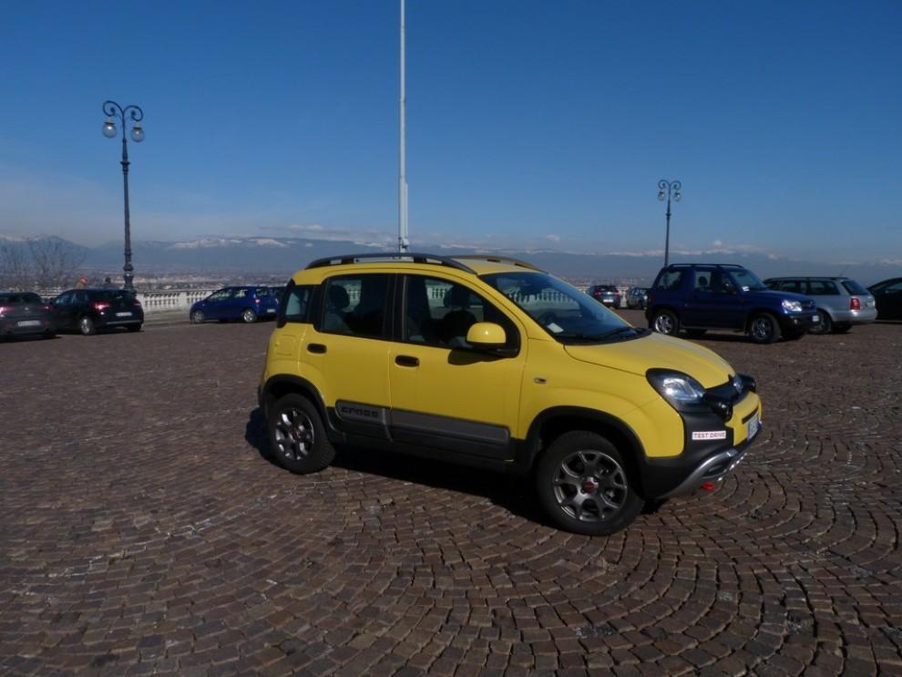 Fiat Panda Cross 1.3 MJT S&S 4×4: la prova su strada - Foto 18 di 30