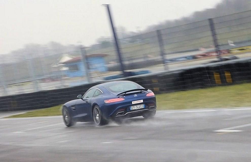 Mercedes-AMG GT S provati in pista i 510 CV sul Circuito di Franciacorta - Foto 37 di 41