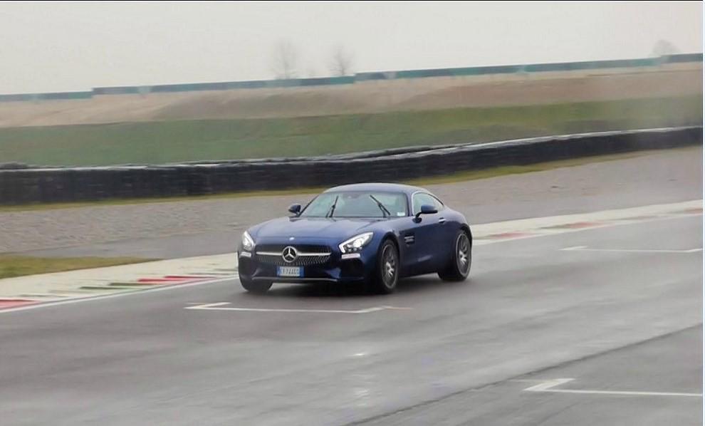 Mercedes-AMG GT S provati in pista i 510 CV sul Circuito di Franciacorta - Foto 25 di 41