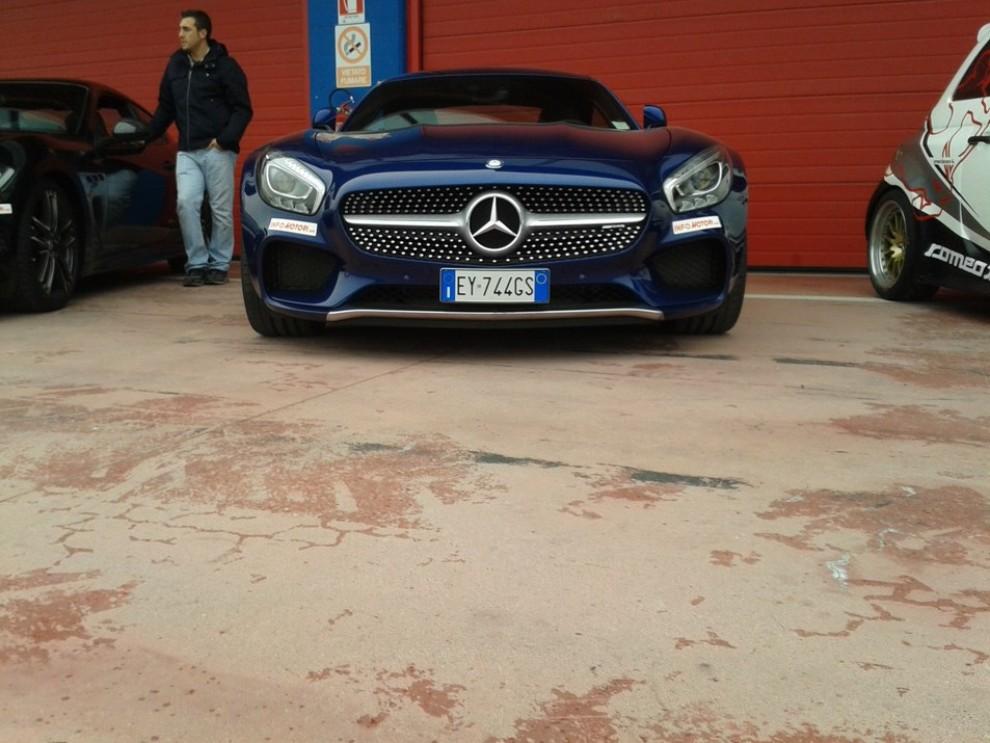 Mercedes-AMG GT S provati in pista i 510 CV sul Circuito di Franciacorta - Foto 5 di 41