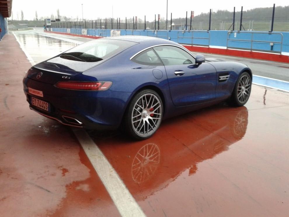 Mercedes-AMG GT S provati in pista i 510 CV sul Circuito di Franciacorta - Foto 24 di 41