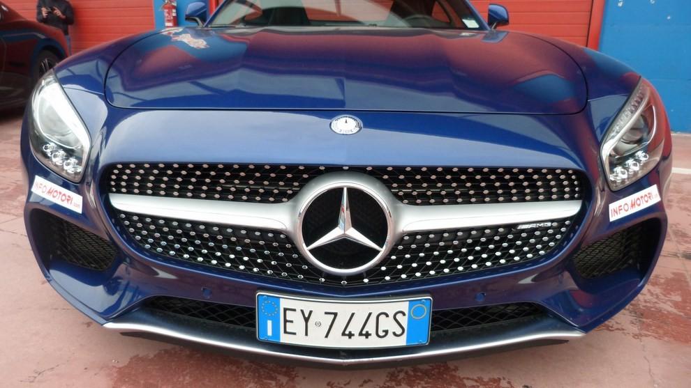 Mercedes-AMG GT S provati in pista i 510 CV sul Circuito di Franciacorta - Foto 4 di 41